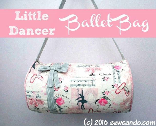 Tutorial: Little Dancer Ballet Bag by Sew Can Do