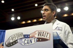 Surgeon Basic Vivek Murthy requested to resign changed by nurse