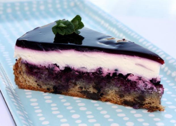 Čučoriedková torta - recept