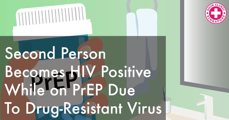 Second Person Becomes HIV Positive while on PrEP Due to Drug-Resistant Virus - Read here: https://www.shimclinic.com/blog/second-person-becomes-hiv-positive-while-on-prep-due-to-drug-resistant-virus. #HIV #ShimClinic #PrEP #resistancemutations