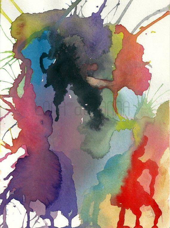 GorgeousWatercolour Artworks, Lona De, De Anna, Art Prints, Anna White, Pink Primavera, Prints A3, Neon Pink, Watercolour Prints