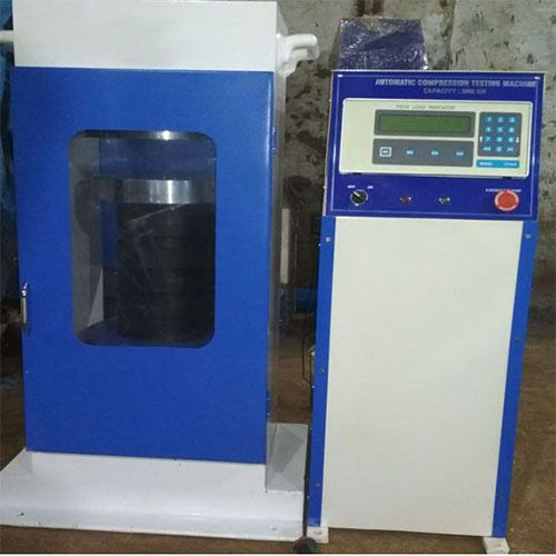 Automatic pression Testing Machine with Pace Rate Controller