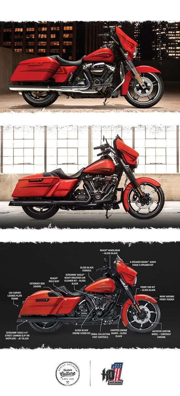 Shop the 2017 Street Glide Special Inspiration Gallery for Harley-DavidsonGenuine Motor Parts & Accessories. Free Shipping to your local H-DDealer!