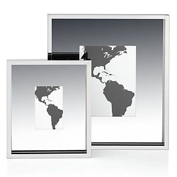 Our striking Atlas Frames make the most of your memorable moments, surrounding photos in a wide border of stainless steel for modern appeal.