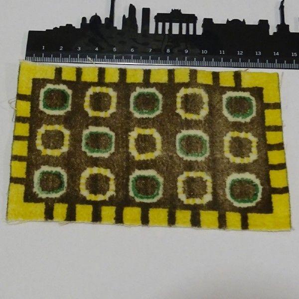 Lundby Lisa nukkekodin MATTO värikäs 1970-luku - Huuto.net