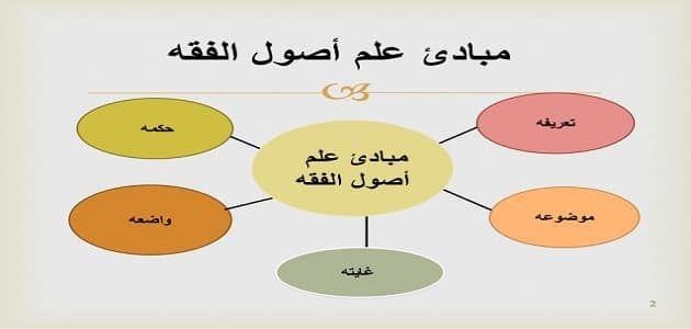 تعريف أصول الفقه بالتفصيل Pie Chart Chart Principles
