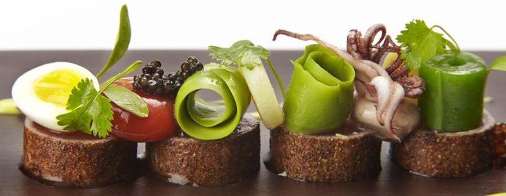 Michael Wignall, Michelin two star cuisine...