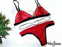 Нижнее белье, бандажи handmade - Meyjana   Нижнее белье, бандажи handmade - Meyjana #lace #bra #meyjana #red #lingerie #bralette #panties #set #handmade #stripes #clip #бюстгальтер #cвоимируками #кружево #безкосточек #красный #комплект  #нижнеебельеручнойработы #ручнаяработа