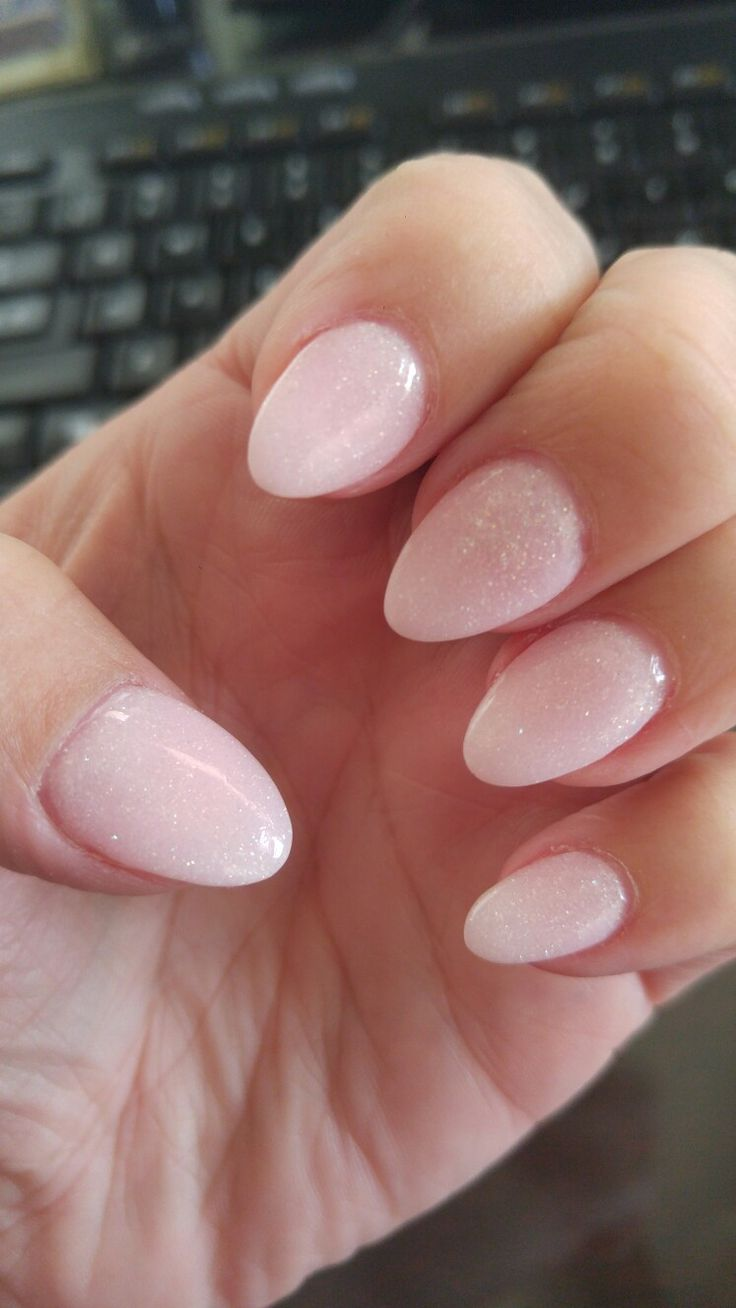 Nexgen Guadalajara Short Almond Shape Nails That Are A Good Length To Where Preferably If Your Around 12 Years Old