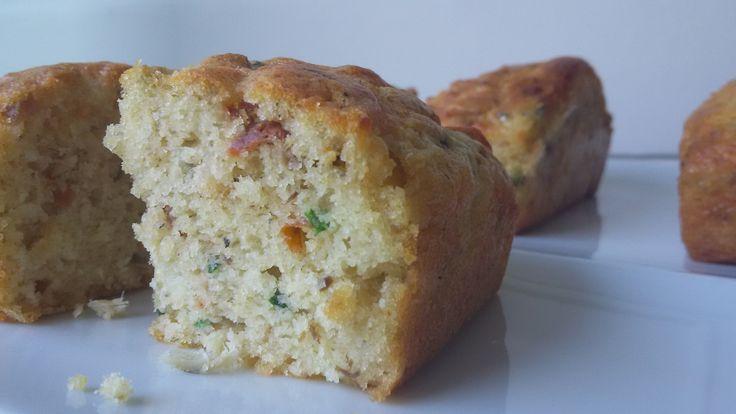 Cake tomates séchées / anchois