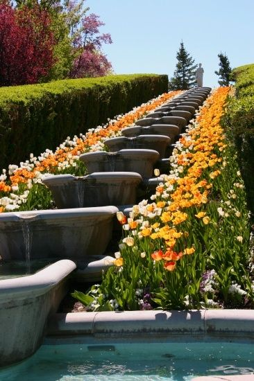 Thanksgiving Point Italian Garden I Would Love Something Like This In My Backyard Utah