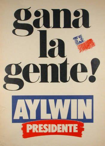 Patricio Aylwin, elección presidencial, 1989 (Fuente: http://econtent.unm.edu/cdm/singleitem/collection/LAPolPoster/id/3945/rec/167)