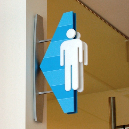 wayfinding restroom - Google Search