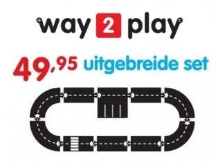 Way2Play 10-delige uitgebreide set
