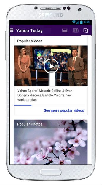 Yahoo Mail App Updated With News, Weather, Sports Scores, And That Other Junk From Your Yahoo Homepage