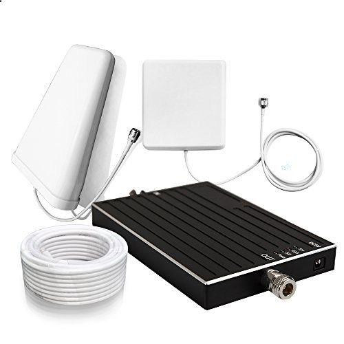 Cell Phone Booster - Sanqino 2G/3G/4G Cell Phone Signal Booster 850MHz/1700MHz Dual Band Signal Repeater For Home and Office-Ehance Your Signal and Gain 65dB . Can Cover up to 1076 sq ft. For Multiple Devices and Users topcellulardeals.... PERFECT FOR 1076 sq ft- 8608 sq ft OR SMALL OFFICES