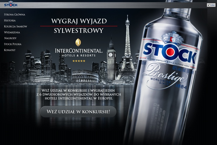 New web design for Stock Polska