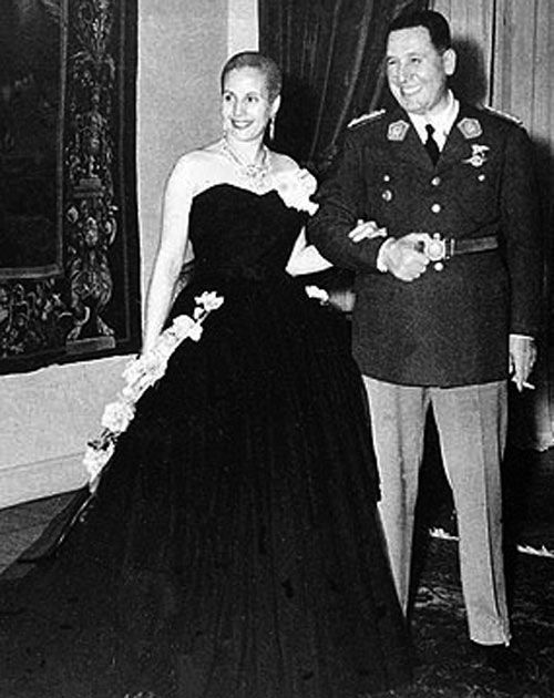 Juan and Evita Peron | Evita: The Real Life of Eva Peron – with an emphasis on 'Real'