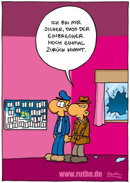 ...Einbrecher...