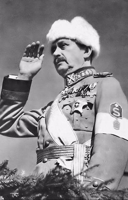 Suomen marsalkka Carl Gustaf Emil Mannerheim (1867-1951).