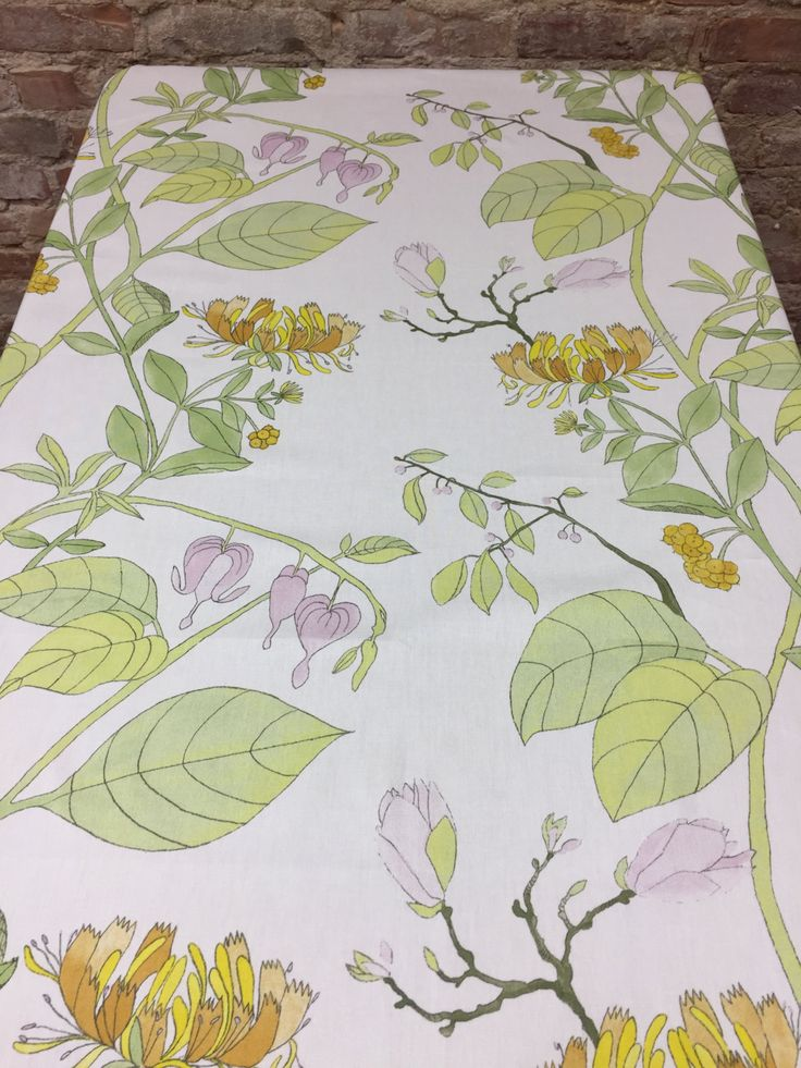White Tablecloth With Spring Flowers, The Broken Hearts, Home Decor, Great  Gift By