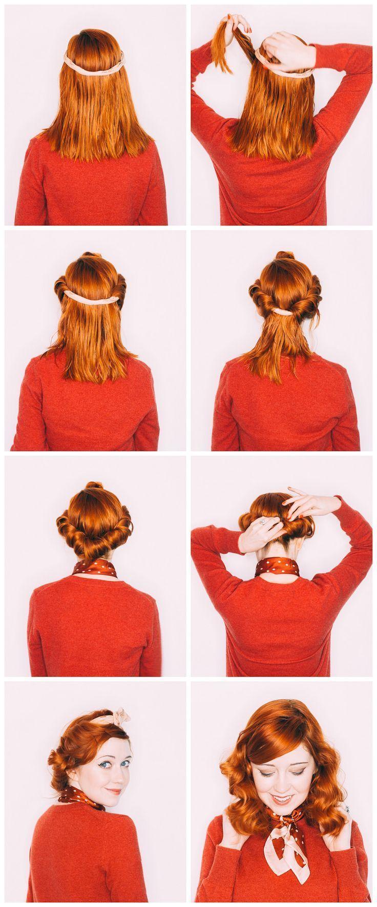 Headband No Heat Curls For Medium Length Hair In 2020 Heatless Curls Wavy Hair Overnight Hair Without Heat