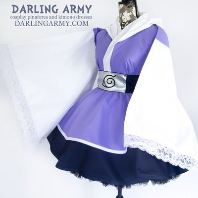 Hyuuga Darling Cosplay Kimono Dress