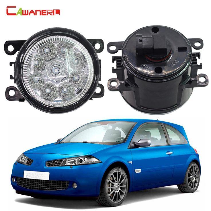 24.42$  Buy now - Cawanerl 1 Pair Car Lamp LED Daytime Running Light Fog Light DRL 12V For Renault Megane 2/II Saloon LM0 LM1 2003-2015  #shopstyle