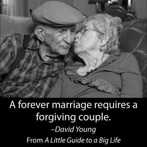 A forever marriage requires a forgiving couple. -David Young #ALittleGuide