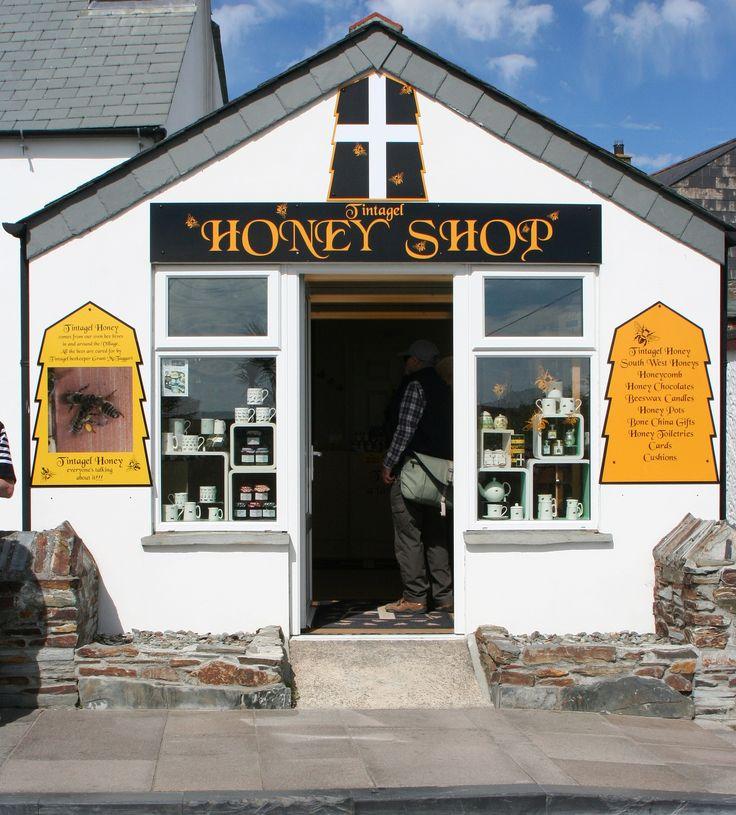 https://flic.kr/p/wxYDpj | Tintagel Honey Shop Tintagel August 2015