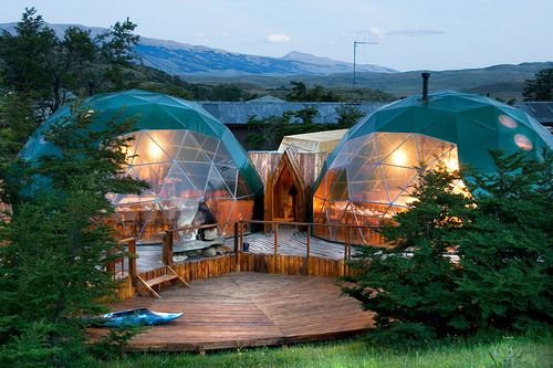 geodesic domes.