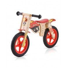 Bicicleta de madera balance