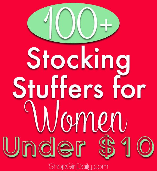 100 stocking stuffers for women under 10 fantabulously frugal stockings for women and. Black Bedroom Furniture Sets. Home Design Ideas