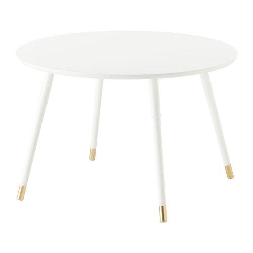 IKEA - LÖVBACKEN, Soffbord, vit,