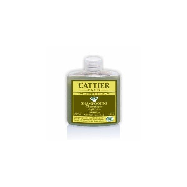 Shampoo Argila Verde (Cattier) - Ervanária Shalom Nature