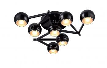 Фото Люстра потолочная Rottura, 7xЕ14, черный (ST-Luce, SL853.402.07) от магазина Amppa.ru