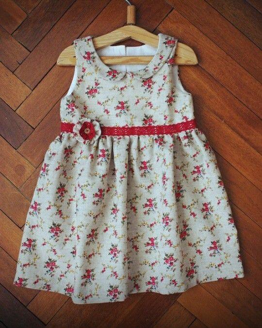 Платье из льна и хлопка, на заказ по вашим размерам
