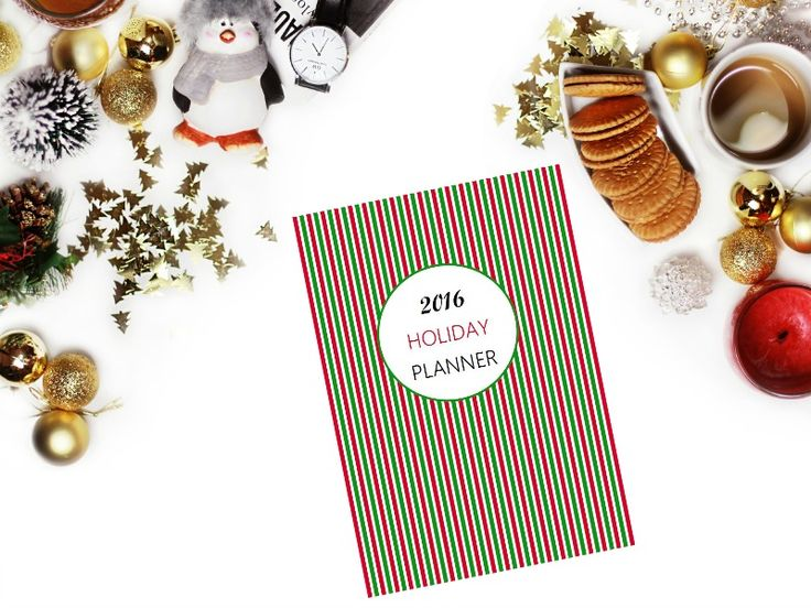 Free Printable 2016 Holiday Planner - Ioanna's Notebook