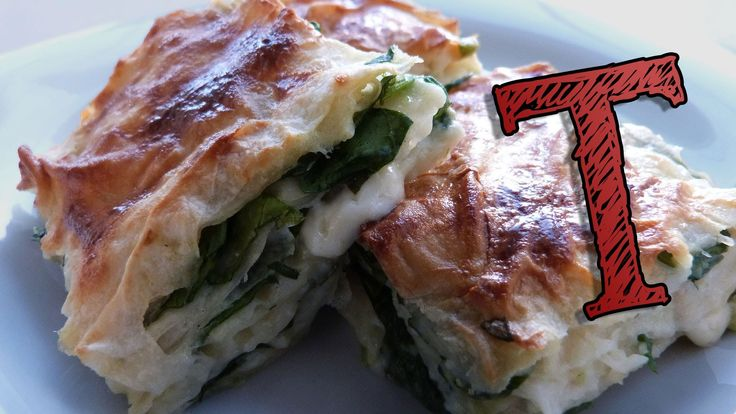 Turkish Borek Recipe   Filo Pastry with Spinach and Cheese   Turkish Recipes   Spinach Feta Pastry Ingredients 300 g (0.7 lbs) of Feta Cheese 1 lbs (500 g) o...