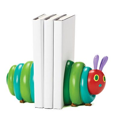 Look at this #zulilyfind! Very Hungry Caterpillar Two-Piece Bookend Set #zulilyfinds