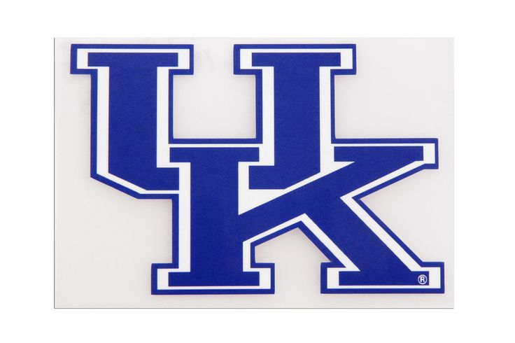 Uk Basketball Logo: University Of Kentucky Interlock UK Decal