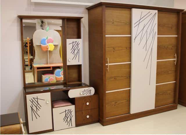 غرفة النوم التفاحه المشخبطه دولاب شباب اطفال بنات جديده Youth Bedroom Locker Storage Storage