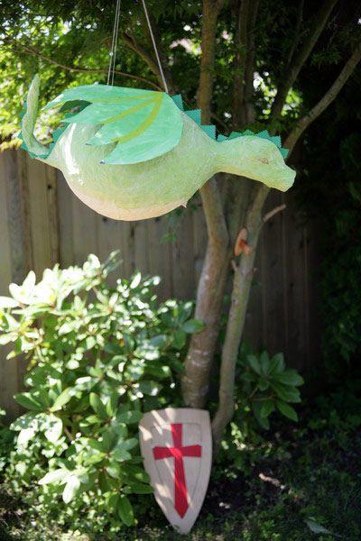 dragon pinata #PenguinKids and #DragonsLoveTacos