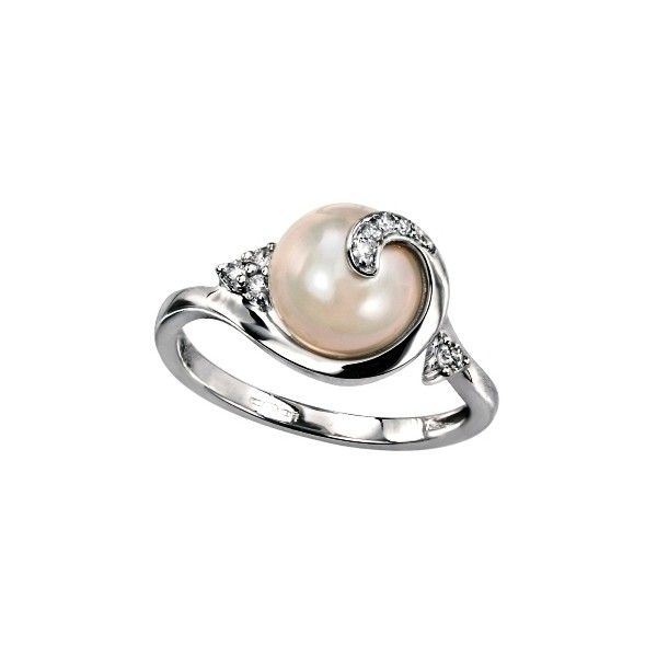 pearl engagement ring - GORGEOUS! I changed my mind, I want a pearl engagement  ring :)
