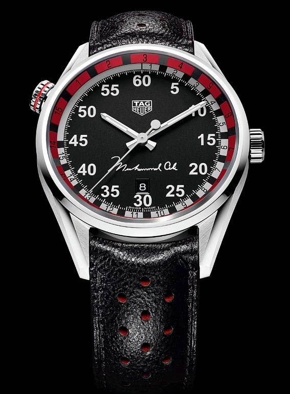 TimeZone : Industry News » N E W M o d e l - TAG Heuer Carrera Caliber 5 Ring Master