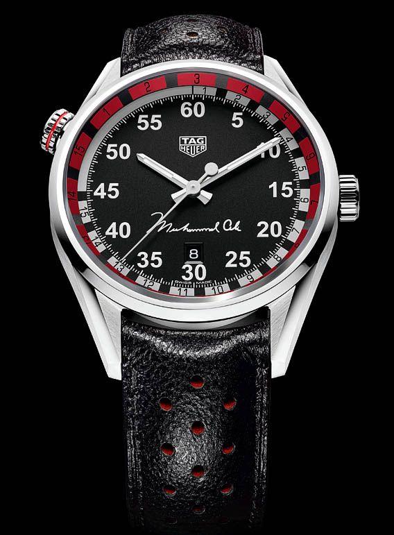 TimeZone : Industry News » N E W M o d e l - TAG Heuer Carrera Caliber 5 Ring Master