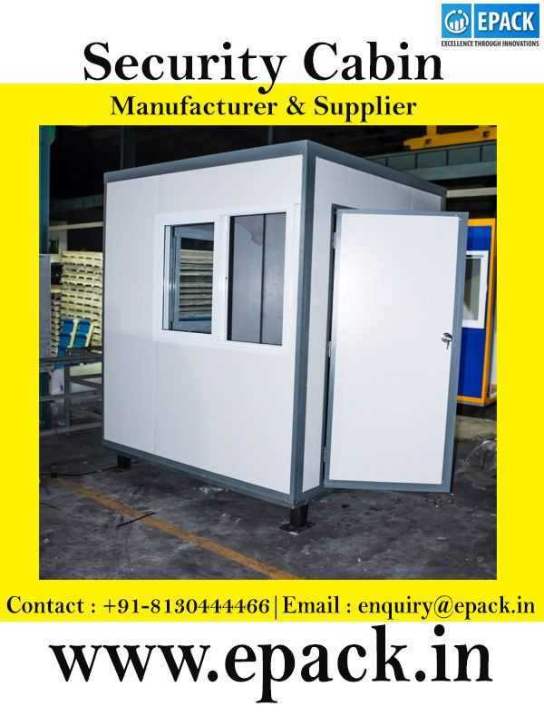 Get security cabin at affordable price in India  EPACK is one of the