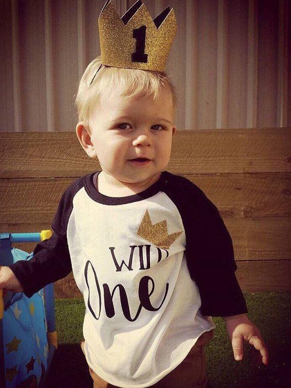 Wild One Birthday Shirt;First Birthday;1st Birthday;Boy's Birthday;Cute First Birthday Shirt Girl;Girl's Baseball Shirt;Girl's Birthday