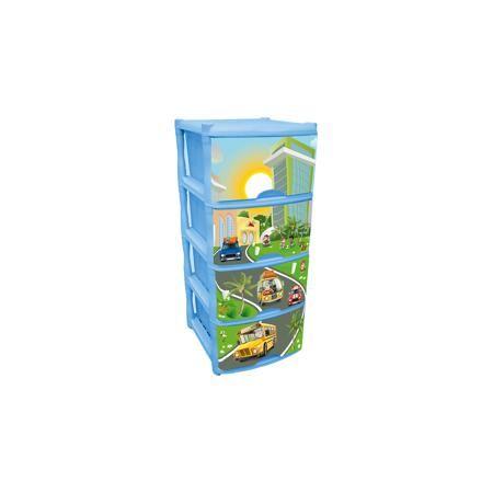 Little Angel Комод для детской комнаты City Cars Tutti 4 ящика, Little Angel, голубой небесный  — 2150р.  Комод для детской комнаты City Cars Tutti 4 ящика, Little Angel, голубой небесный ‒ это детская мебель от отечественного производителя . Комод изготовлен из экологически безопасного материала ‒ полипропилена, который обеспечивает легкость конструкции, прочность, устойчивость к физическим и химическим воздействиям. Окраска комода обладает высокой устойчивостью цвета к внешним…