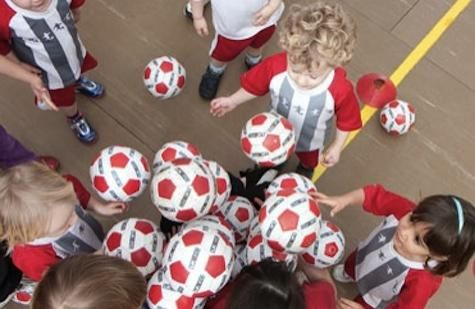 We try: Little Kickers: A great way to develop camaraderie, confidence & social skills.
